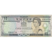 Fidžis. 1987 m. 1 doleris. P86