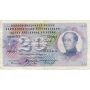Šveicarija. 1961 m. 20 frankų