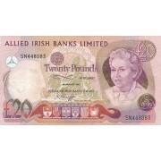 Šiaurės Airija. 1982 m. 20 svarų. RETAS