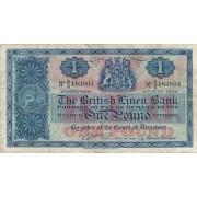 Škotija. 1956 m. 1 svaras
