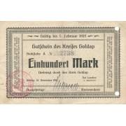 Geldapė. 1918 m. 100 markių