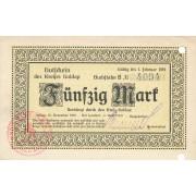 Geldapė. 1918 m. 50 markių