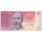 Estija. 2006 m. 10 kronų. UNC