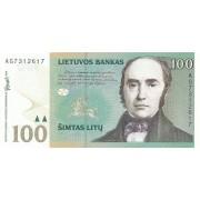 Lietuva. 2000 m. 100 litų. Serija: AG. UNC