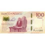 Meksika. 2016 m. 100 pesų. UNC