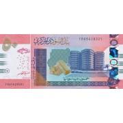 Sudanas. 2018 m. 50 svarų. UNC