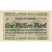 Vokietija / Esenas. 1923 m. 1.000.000 markių