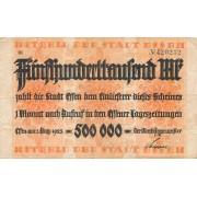 Vokietija / Esenas. 1923 m. 500.000 markių