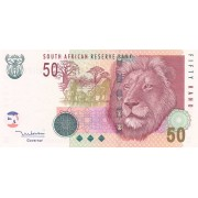 Pietų Afrika. 2005 m. 50 randų. P130a. UNC