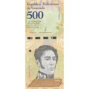 Venesuela. 2018 m. 500 bolivarų. UNC