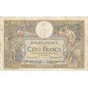 Prancūzija. 1914 m. 100 frankų