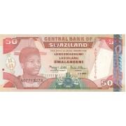 Svazilandas. 2001 m. 50 emalangeni. UNC