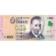 Urugvajus. 2015 m. 100 pesų. UNC
