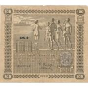 Suomija. 1939 m. 100 markių