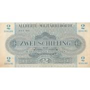 Austrija. 1944 m. 2 šilingai