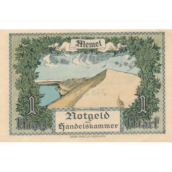 Klaipėda. 1922 m. 1 markė