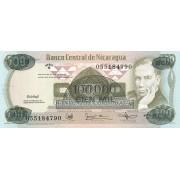 Nikaragva. 1987 m. 100.000 kordobų. P149. UNC