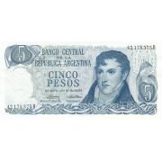 Argentina. 1974-1976 m. 5 pesai. P294. UNC