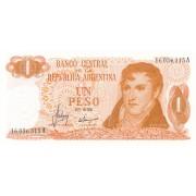 Argentina. 1970-1973 m. 1 pesas. P287. UNC