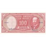 Čilė. 1960-1961 m. 10 sentavų. P127a. UNC