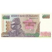 Zimbabvė. 2001 m. 500 dolerių. P11a. UNC