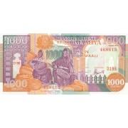 Somalis. 1996 m. 1.000 šilingų. P37b. UNC