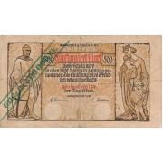 Karaliaučius. 1923 m. 500.000 ant 500 markių. F-