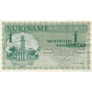 Surinamas. 1974 m. 1 guldenas