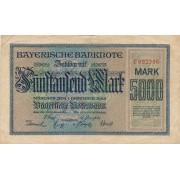 Vokietija / Miunchenas. 1922 m. 5.000 markių