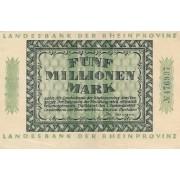Vokietija / Diuseldorfas. 1923 m. 5.000.000 markių