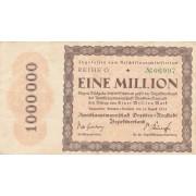 Vokietija / Dresdenas. 1923 m. 1.000.000 markių