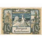 Klaipėda. 1922 m. 10 markių