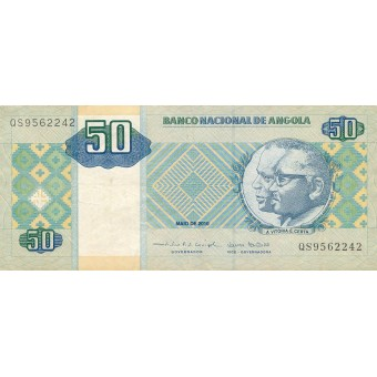 Angola. 2010 m. 50 kvanzų