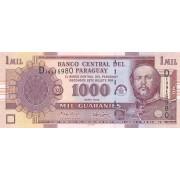 Paragvajus. 2005 m. 1.000 guaranių. P222b. UNC