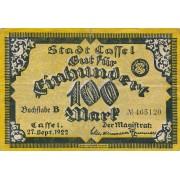 Vokietija / Kaselis. 1922 m. 100 markių