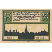Įsrutis. 1920 m. 2.5 markės