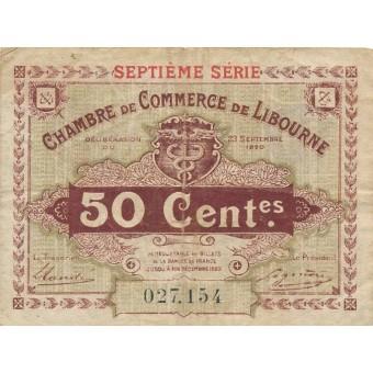Prancūzija / Liburnas. 1920 m. 50 centų