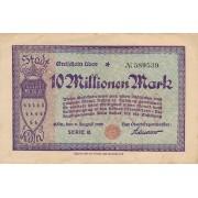 Vokietija / Kelnas. 1923 m. 10.000.000 markių