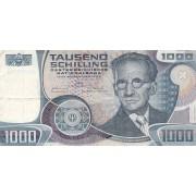 Austrija. 1983 m. 1.000 šilingų