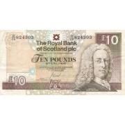 Škotija. 2006 m. 10 svarų