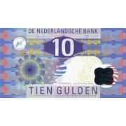 Nyderlandai. 1997 m. 10 guldenų. P99. aUNC