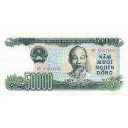 Vietnamas. 1990 m. 50.000 dongų. aUNC