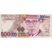 Brazilija. 1993 m. 500.000 kruzeirų. P236c