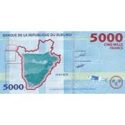 Burundis. 2015 m. 5.000 frankų. UNC