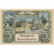 Klaipėda. 1922 m. 5 markės