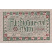 Vokietija / Štutgartas. 1923 m. 500.000 markių