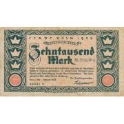 Vokietija / Kelnas. 1923 m. 10.000 markių