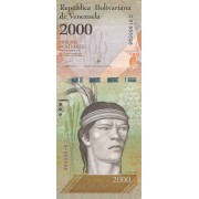 Venesuela. 2016 m. 2.000 bolivarų. UNC