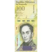 Venesuela. 2017 m. 100.000 bolivarų. UNC