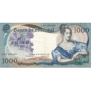 Portugalija. 1967 m. 1.000 eskudų